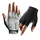 FREETOO Guantes Gimnasio Mujeres, Guantes Fitness Transpirable con Protección...